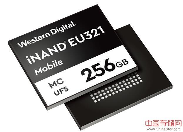 面向高端智能手机,西部数据发布96层3D NAND UFS 2.1嵌入式闪存盘