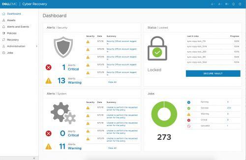 DELL-EMC 推出Cyber Recovery软件及服务