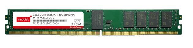 宜鼎推出2666宽温强固型超矮版内存