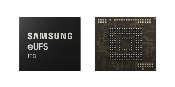 三星全球首发量产512GB eUFS3.0闪存芯片,速度高达2G/s