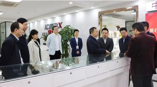 宏旺半导体ICMAX喜迎黄石市市委、人民政府 市长吴锦 一行领导莅临指导
