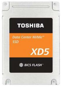 东芝发布XD5 2.5英寸固态硬盘,64层BiCS TLC 3D闪存