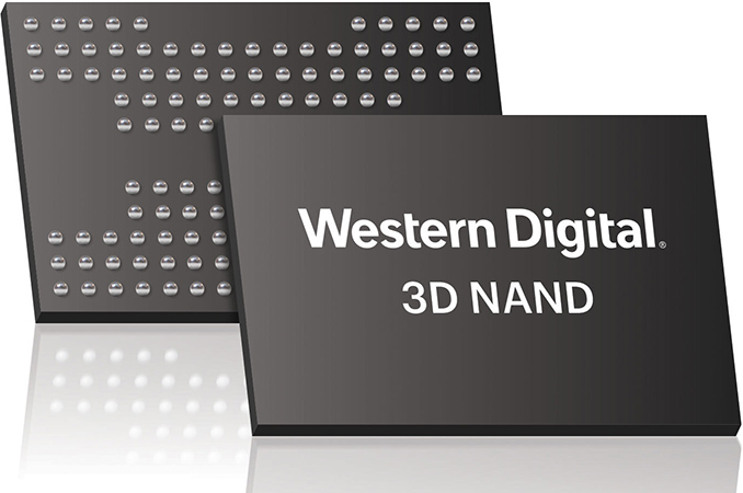 西部数据开始出货基于96层BICS4 3D NAND的消费级闪存