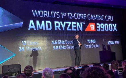 AMD 第三代Ryzen CPU,世界上第一款7纳米台式机芯片