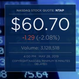 NetApp 2019 Q4财报不佳,闪存阵列业务销售疲软