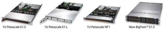 超微Supermicro推出支持EDSFF的服务器和存储系统