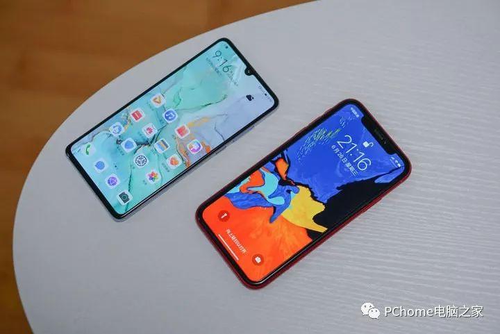 手机电池待机时间 华为P30对比iPhone XR谁更优秀