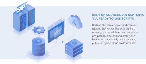 Acronis将备份的安全备份和恢复功能扩展到SAP HANA数据