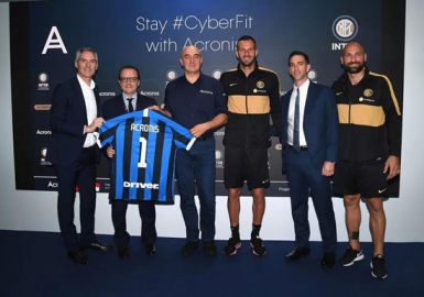 Acronis宣布与米兰国际足球俱乐部正式建立网络保护合作伙伴关系