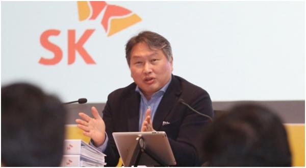 SK主席召开紧急会议,以应对日本的出口限制