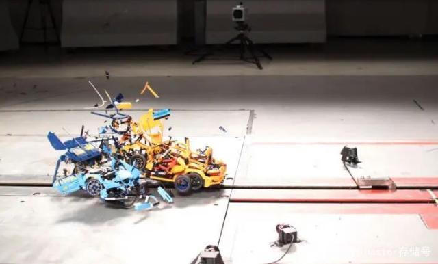 保时捷撞布加迪威龙,模拟超跑车祸,乐高玩具助超级计算机做安全测试