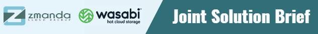 开源备份软件提供商Zmanda与Wasabi联手提供云备份解决方案