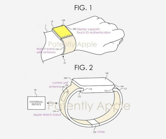 Apple Watch智能手表有望先于iPhone获得屏下指纹技术