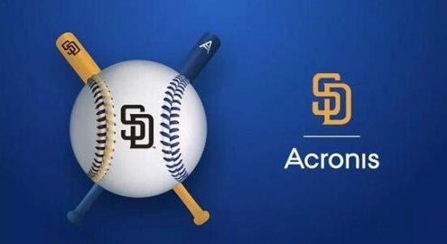 Acronis与美国职业棒球队圣地亚哥教士队建立技术合作伙伴关系!