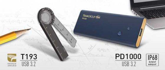 Team(十铨科技)发布一款带量角器,放大镜和磁铁功能的SSD文具闪存盘