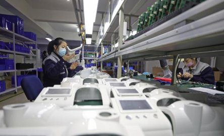 中国呼吸机成全球抢手货,订单排到6月,元器件是关键