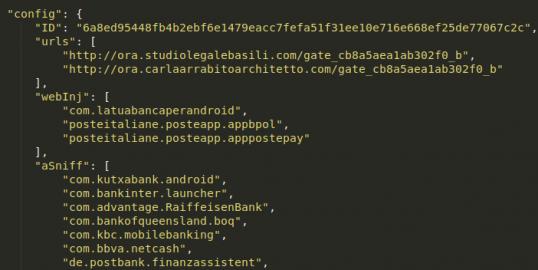 新的Android EventBot恶意软件从金融应用程序窃取数据