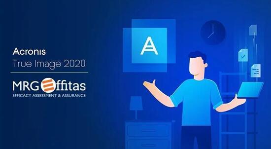 MRG Effitas评测证实Acronis True Image 2020备份比竞品快13倍