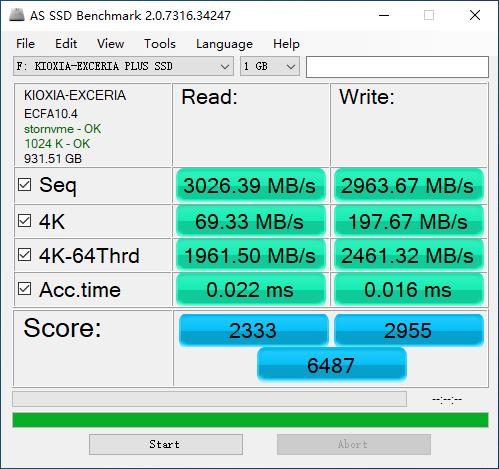 东芝RD500的正宗传人:铠侠RD10固态硬盘评测