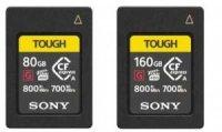 索尼发布CFexpress A型存储卡新品,容量高达80GB和160GB