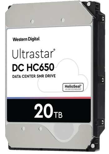 西部数据Ultrastar DC HC650